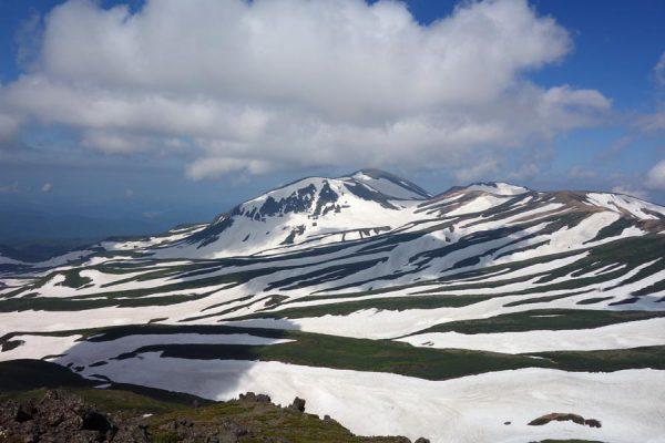 白雲岳のゼブラ模様
