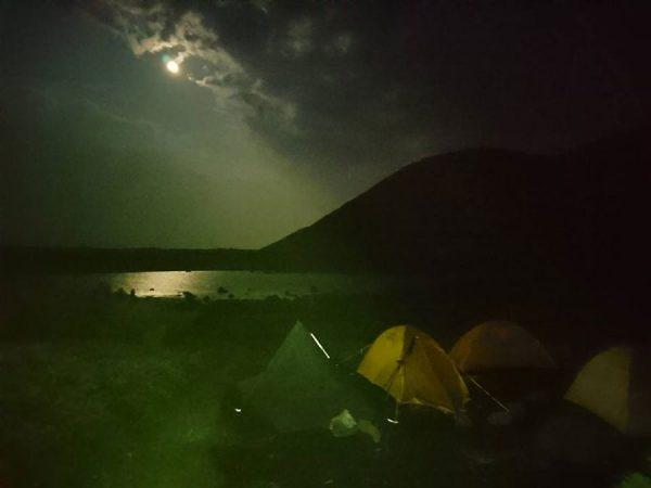 二つ池テント場