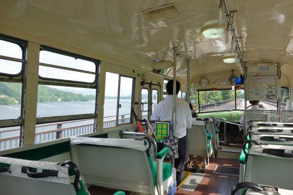 森のくまさんバス車内