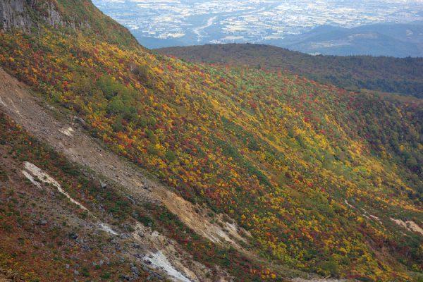 鉄山の紅葉