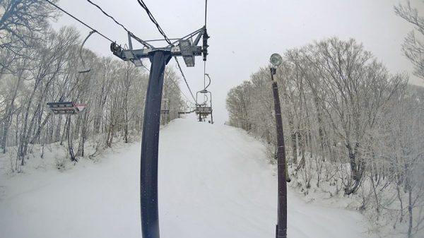 猫魔スキー場初滑り