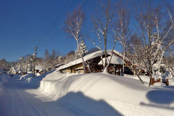 雪の中のヴァンブラン