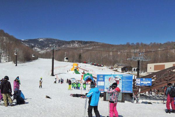 グランデコ 春スキー