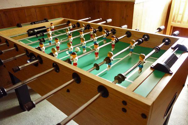 テーブルサッカーゲーム