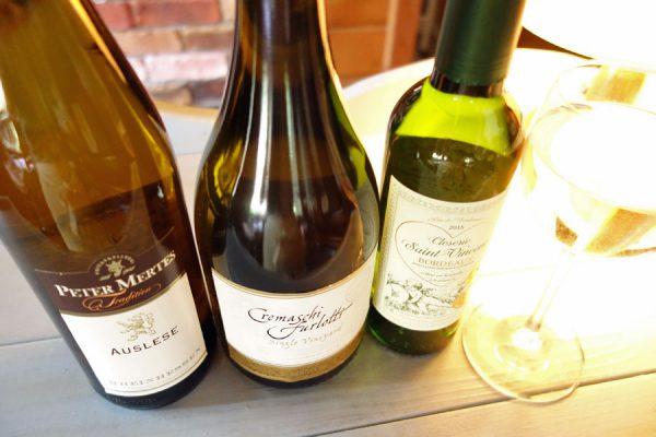 夏の白ワイン