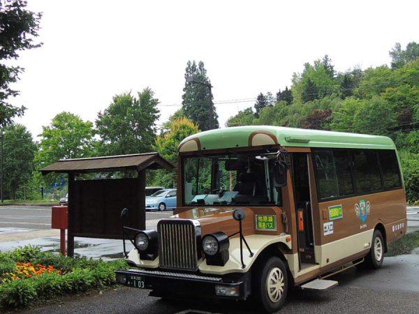 桧原湖一周熊さんバスの旅