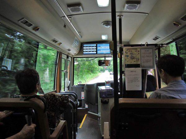 桧原湖一周熊さんバス