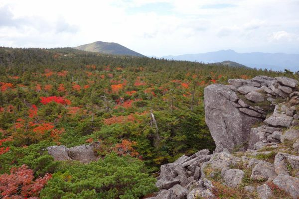 天狗岩からの紅葉