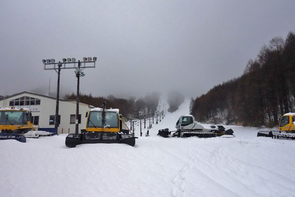 猫魔スキー場15日オープン