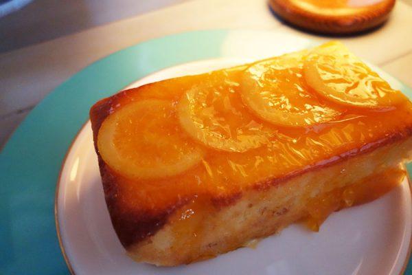 澤田屋のオレンジケーキ
