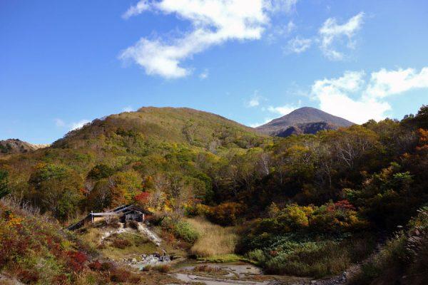 磐梯山の紅葉は、