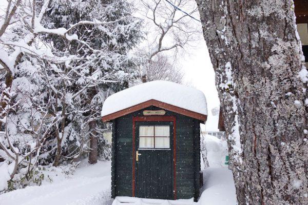 シーズン一番の積雪