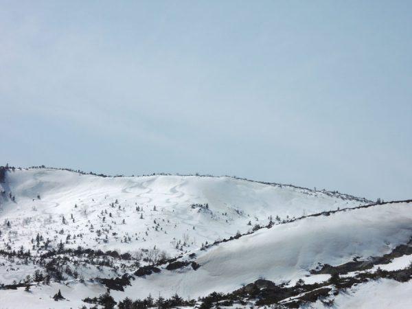 蓬莱山のライン