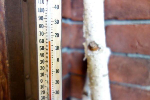 裏磐梯の気温